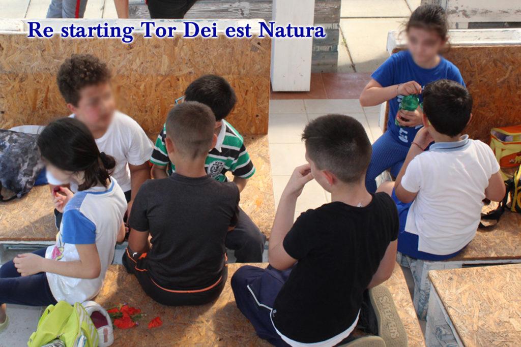 Re starting Tor Dei est Natura